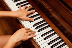 learning piano for beginners